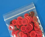 Lock Top Zip � Bags red buttons close